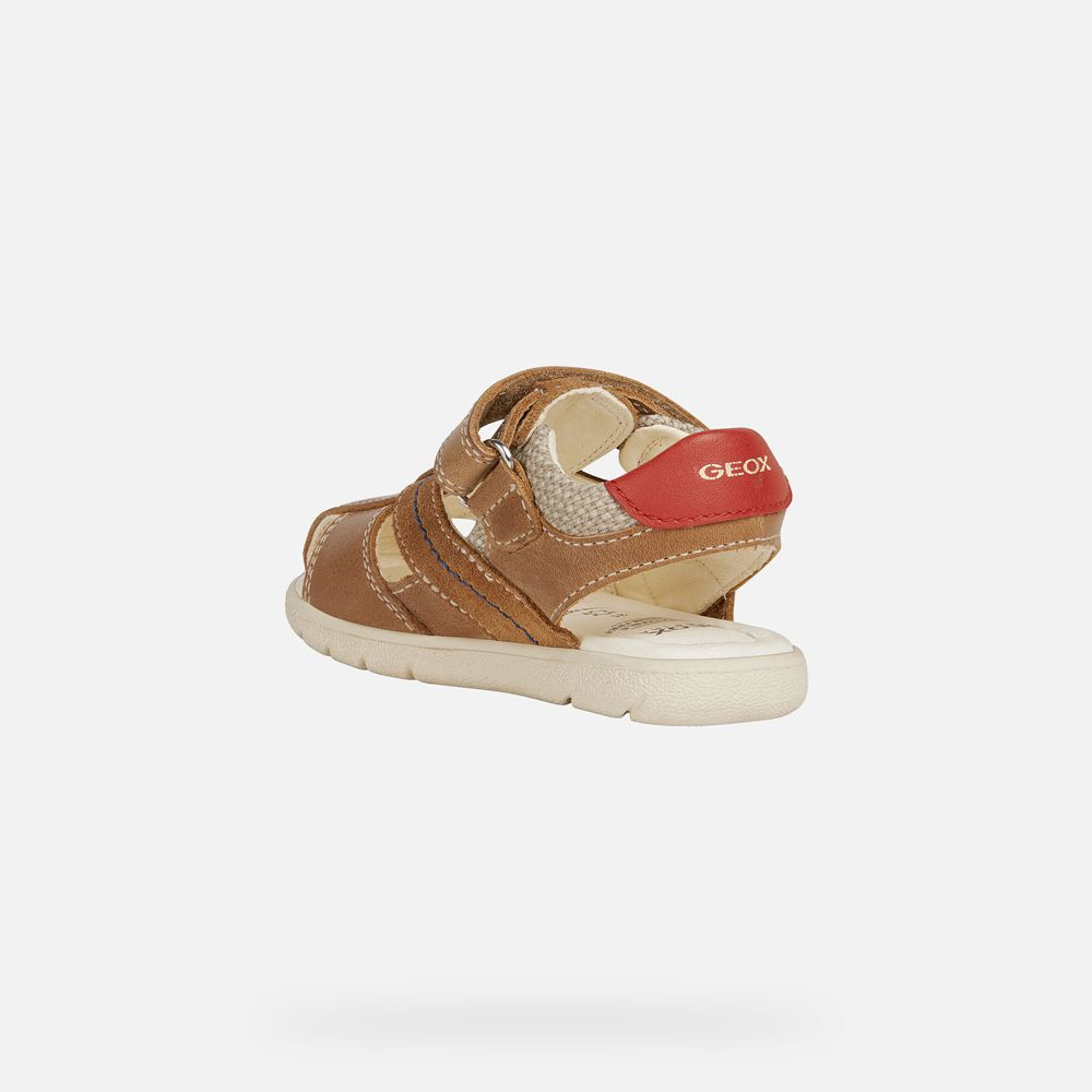 Geox Baby Sandals Brown - Alul Boy - BYON62597