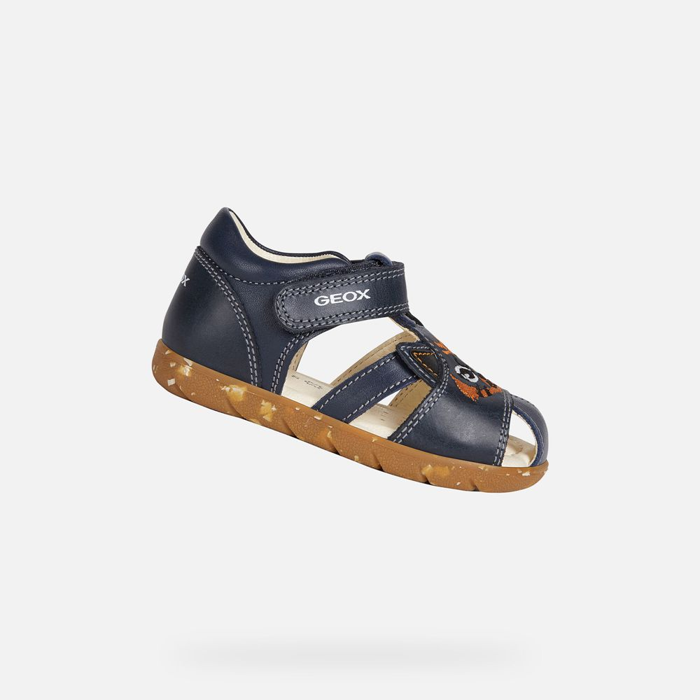 Geox Baby Sandals Navy - Alul Boy - YRHP20564